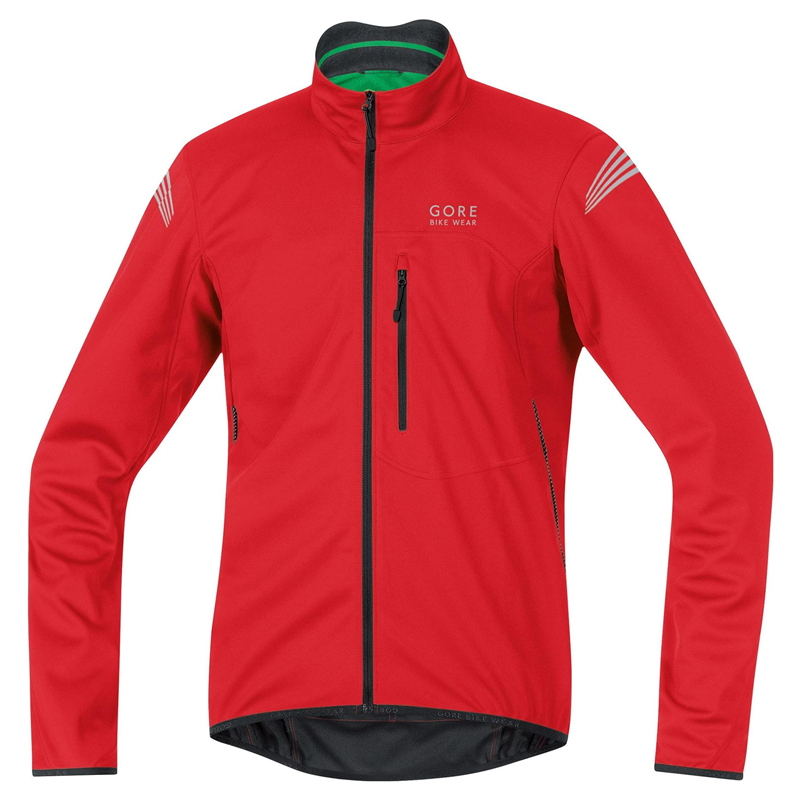 Chaqueta Gore Bike Wear Element Windstopper SO Rojo