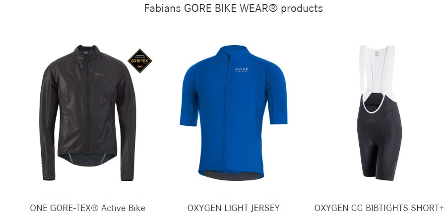 ropa gore bike wear
